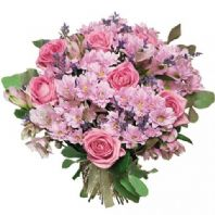 Pink colour bouquet
